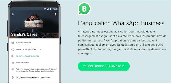 communiquer avec ses clients via whatsapp business