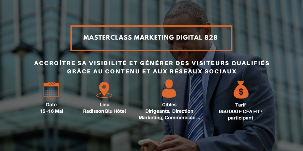 MASTER CLASS MARKETING DIGITAL B2B