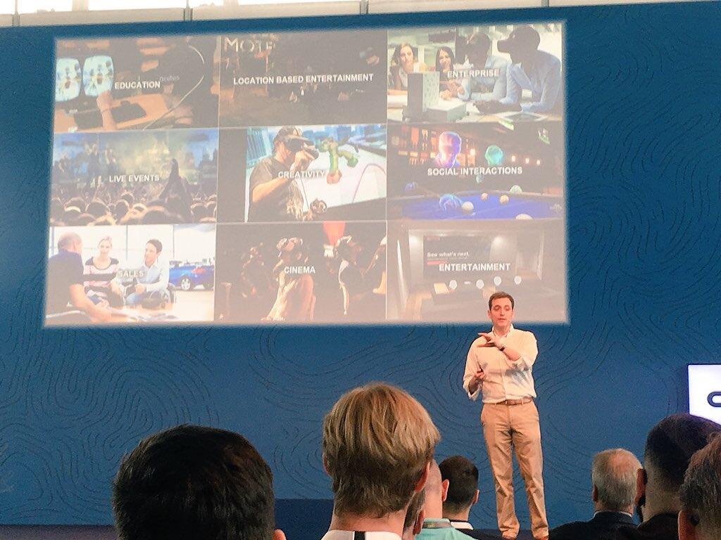 Usage de la réalité virtuelle - By Filling CeBIT 2018