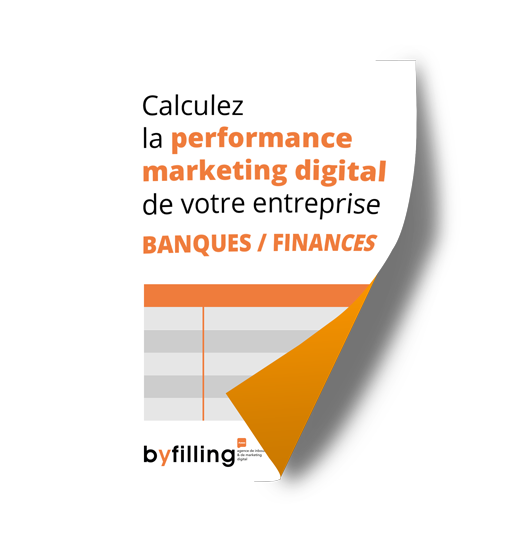 Calculez la performance marketing digital de votre entreprise BANQUES / FINANCES
