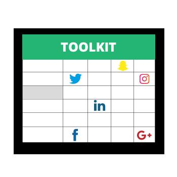 grille des publications réseaux sociaux